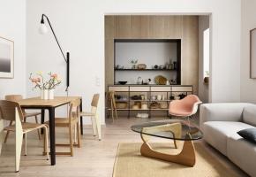 Plate Dining Table und Soft Modular Sofa Eames RAR Vitra