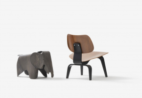 Vitra Eames LCW Plywood Group anniversary edition