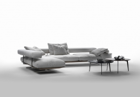 Wing Sofa Flexform Ecksofa
