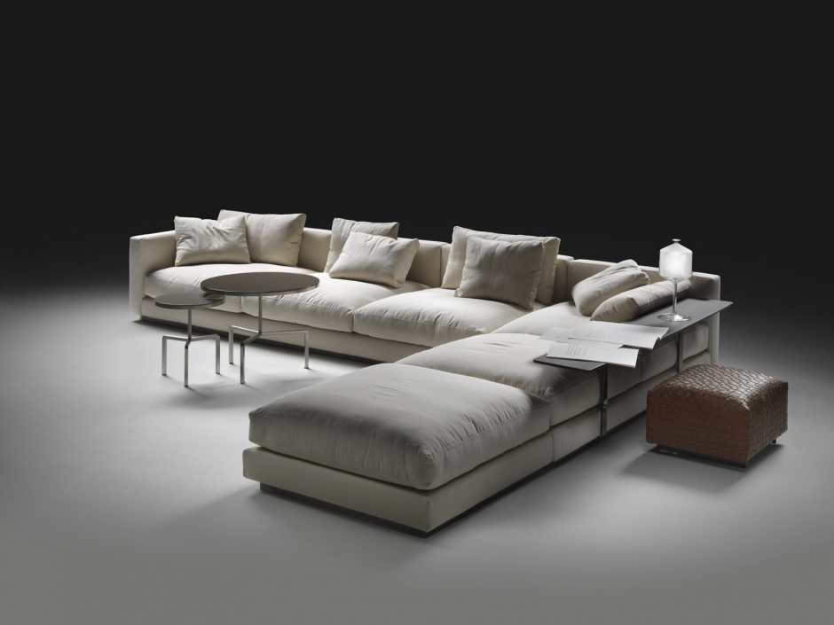 pleasure sofa von flexform in unserem showroom ueli. Black Bedroom Furniture Sets. Home Design Ideas