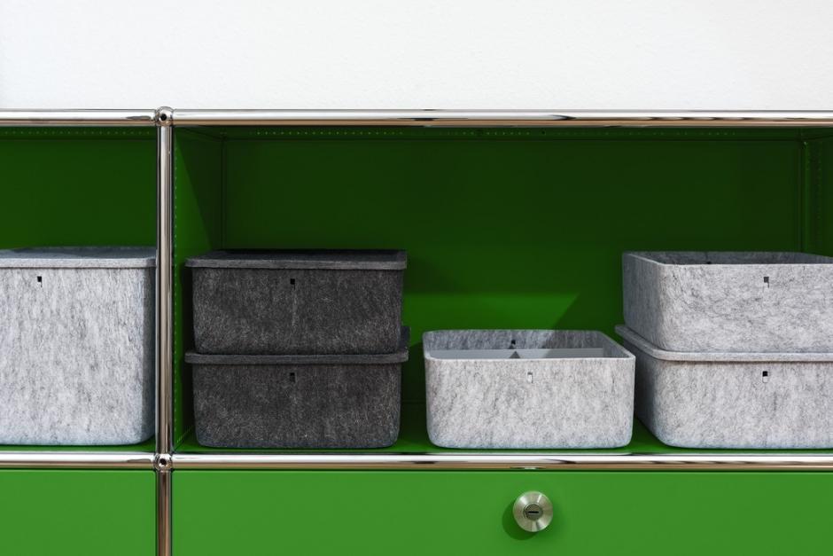 l ssige ordnungshelfer usm inos boxen ueli frauchiger. Black Bedroom Furniture Sets. Home Design Ideas